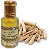 KAZIMA Sandal Musk Attar Perfume For Unisex - Pure Natural Undiluted (Non-Alcoholic)