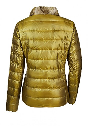 ... Milestone Damen Steppjacke Daunenjacke Winterjacke Planet Gelb Web Pelz  Kragen Teddyfutter Gr. 36 - 46 ... 392f7e7db3