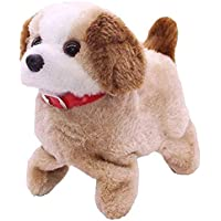 Brand Conquer Battery Operated Fantastic Jumping Walking Barking & Jumping Puppy That Flips Over Toy Best for Toddlers and Kids