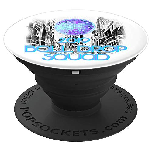 (2019 New York City Ball Drop Squad Party Souvenir - PopSockets Grip and Stand for Phones and)