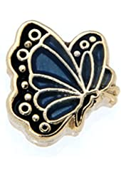 March Butterfly Enamel Birthmonth Charm for Floating Lockets