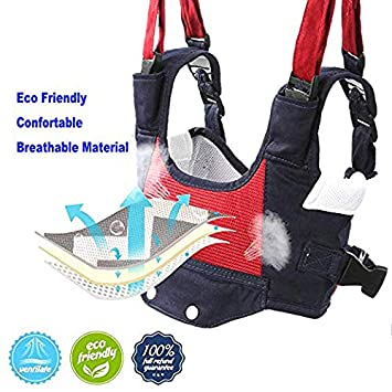 Baby Walker Toddler Walking Assistant Protective Belt,VIORKI Multifunction Breathable to Prevent Falling Learning Assistant,Help The Baby Safely Stand up and Walking Dark Blue