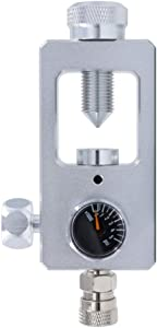 Gurlleu Scuba DIN Valve Refill Adapter Aluminum Alloy 4500 PSI PCP Paintball HPA Tank Fill Station & Charging System