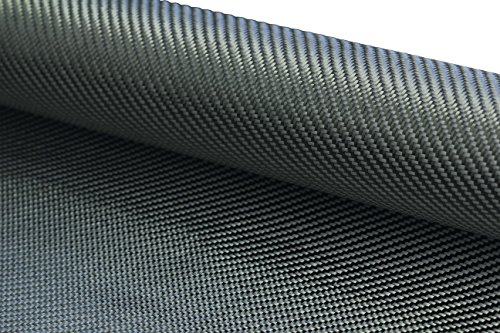 CARBON FIBER FABRIC 2X2 TWILL 3K 203.43GSM/6OZ 50