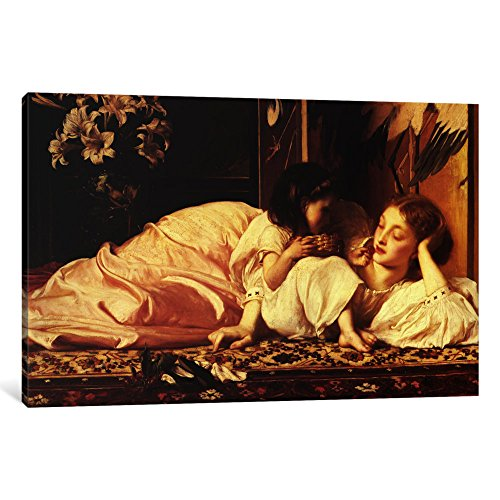 iCanvasART 1 Piece Mother and Child Canvas Print by Frederick Leighton, 40