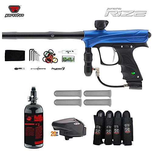 Proto Rize Advanced Paintball Gun Package - Blue Dust