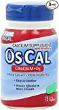 Oscal 500 Mg W/D 60+15 Size 75s Oscal Calcium Supplement With Vitamin D