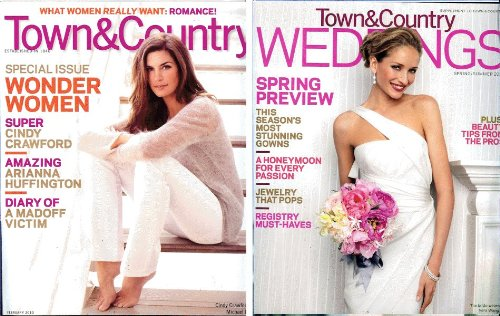 Town & Country 2010 February - Cindy Crawford in Micahel - Michele Kors