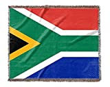 Canvas on Demand Woven Blanket - South Africa Flag