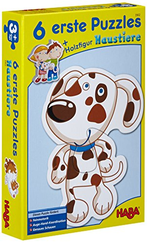 Little Hand First Jigsaw Puzzles Animals By Haba (Haba Jigsaw Puzzles)