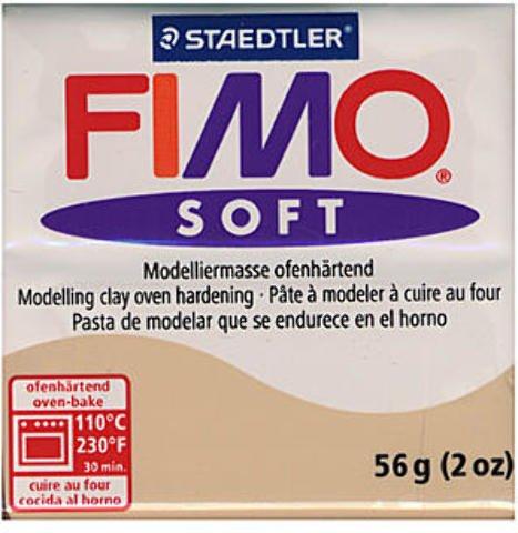 Fimo Soft Polymer Clay (Sahara) 4 pcs sku# 1837873MA ()