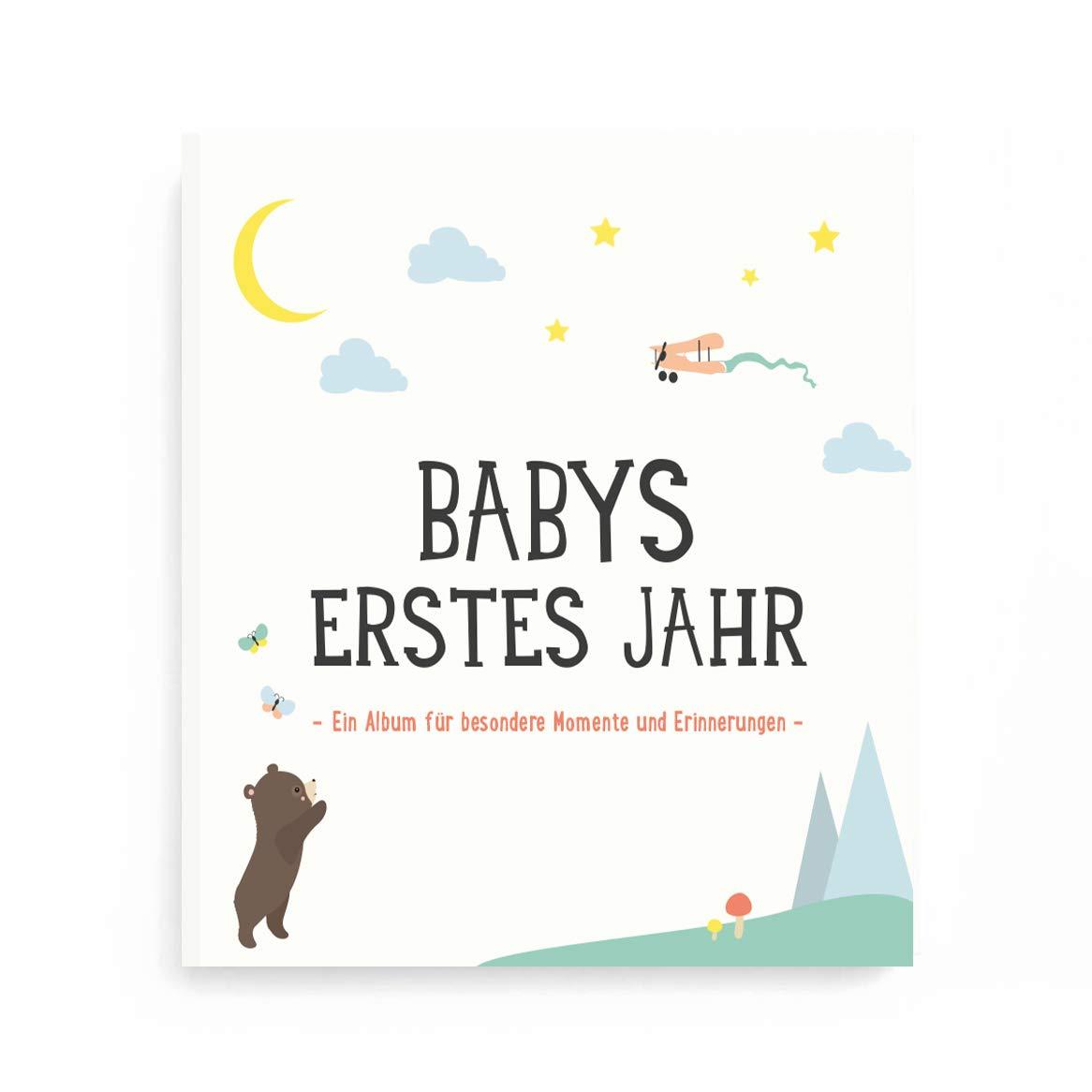 Milestone FOTOALBUMBABYS ERSTES JAHR deutsche Version