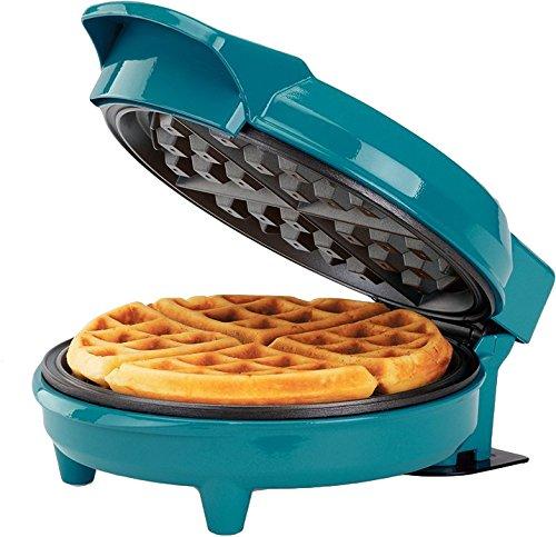 HH-09037016E Waffle Maker, Teal ()