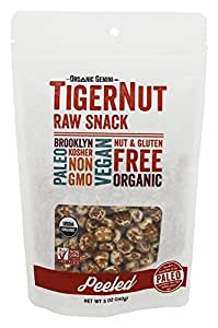 TigerNut Raw Snack - Peeled 5oz