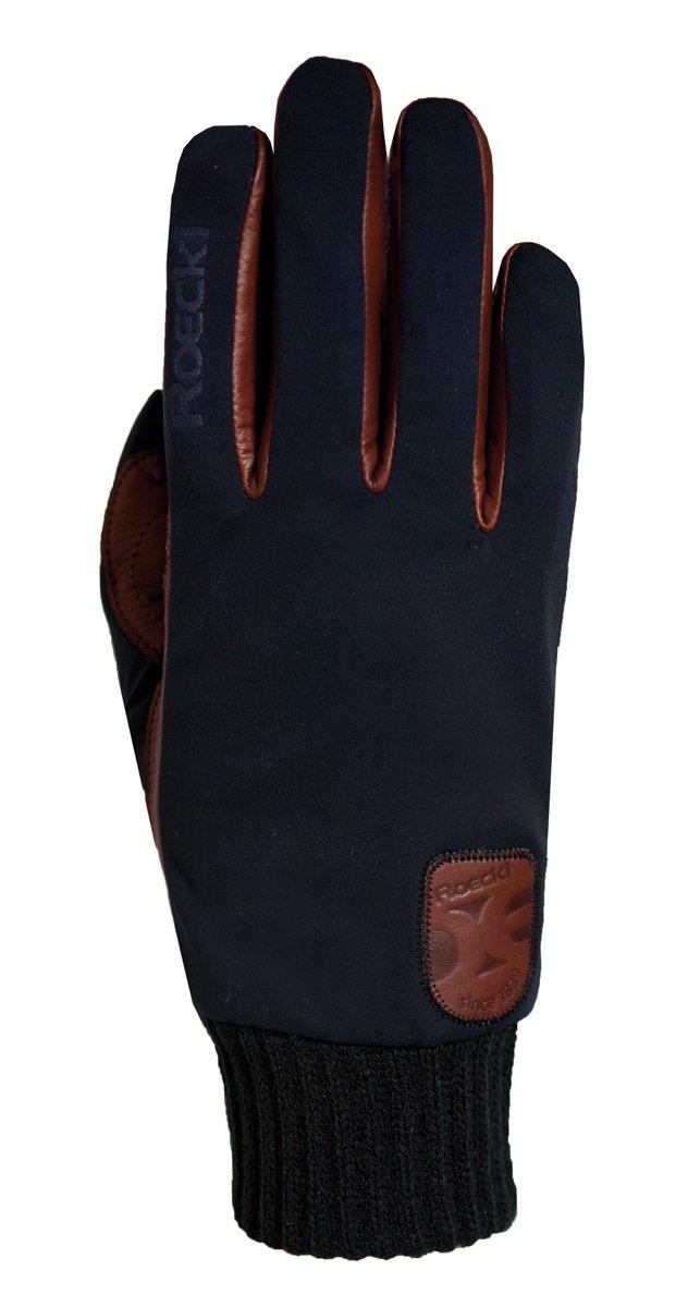 Roeckl Kiev Softshell Winter Fahrrad Handschuhe schwarz//braun
