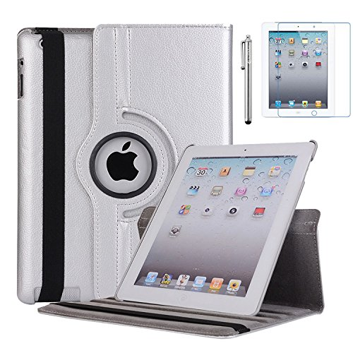 AiSMei Case for iPad 4 (2012), 9.7-inch Rotating Stand for sale  Delivered anywhere in USA