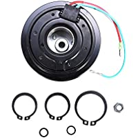 ACUMSTE AC A/C Compressor Clutch Pulley Bearing Coil Plate For Honda Civic 2001-05 1.7L