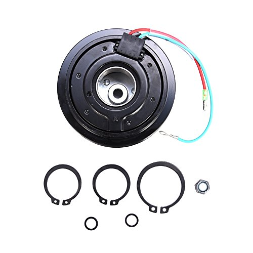 ACUMSTE AC A/C Compressor Clutch Pulley Bearing Coil Plate For Honda Civic 2001-05 1.7L ()