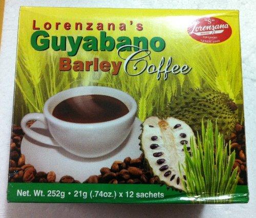Lorenzana's Guyabano Barley Coffee