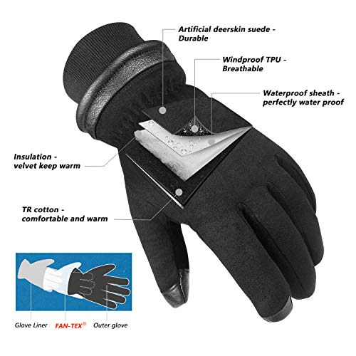 Waterproof Thermal Motorcycle Gloves