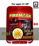 FIREMASK Emergency Escape Hood Oxygen Mask Smoke Mask Gas Mask Respirator for Industrial and Urban Survival Prepper- Protects for 60 Min Against Fire, Gas, & Smoke Inhalation . Great for Home, Office, Truck, High Rise Buildings. Get Peace of Mind Now!
