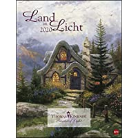 Land im Licht. Wandkalender 2020. Monatskalendarium. Spiralbindung. Format 34 x 44 cm