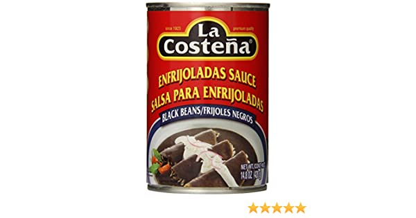 Amazon.com: La Costena Salsa/Enfrijolada Negros Black, 14.8 Ounce (Pack of 12)
