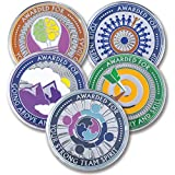 AttaCoin - 5 Coins - Employee Appreciation Gifts - Motivation Award (5 Pack, 5 Coin Variety Pack)