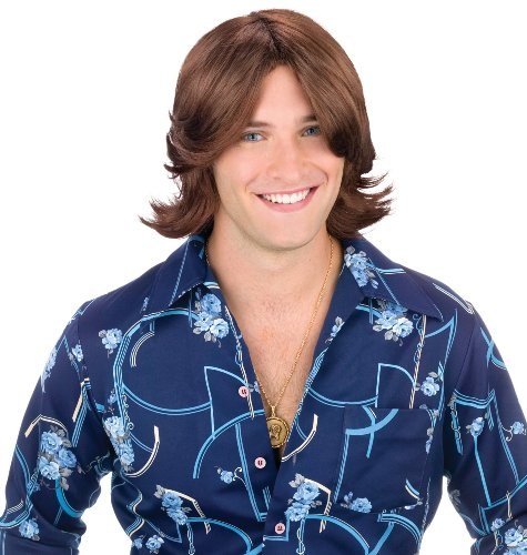 Bruce Jenner Costume (Ladies Man Brown Wig)