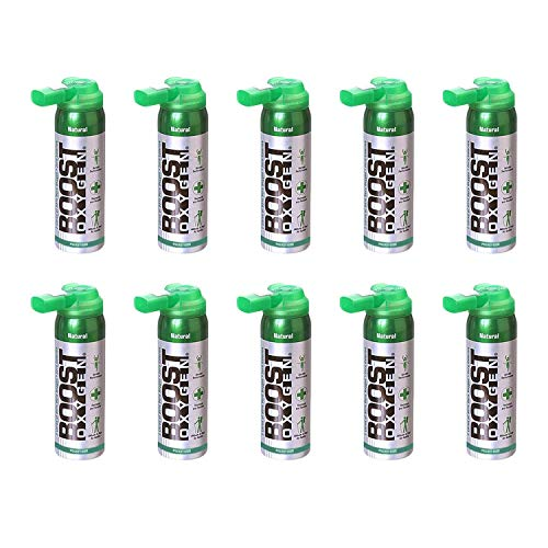 Boost Oxygen Canned 2-Liter Natural Oxygen Inhaler