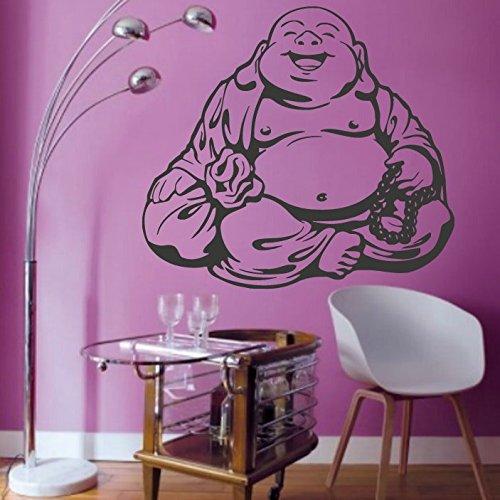 Feng Shui wall decal money mascot wall sticker Hotei wall vinyl oriental decor ae1041 -  AEWALLDECAL