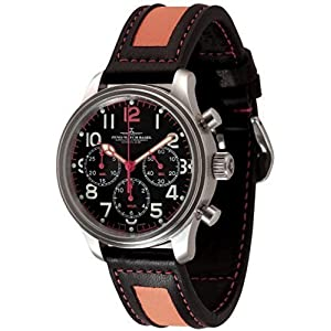 Zeno-Watch Mens Watch - NC Pilot Chronograph 2020 - 9559TH-3-a15
