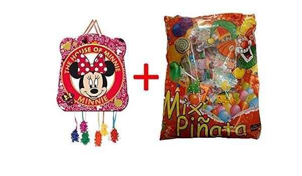 ALMACENESADAN 1144, piñata Basic Minnie Mouse 28x23cm, con ...