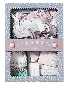 Panduro Hobby Tilda The Corner Shop - Juego de elementos decorativos
