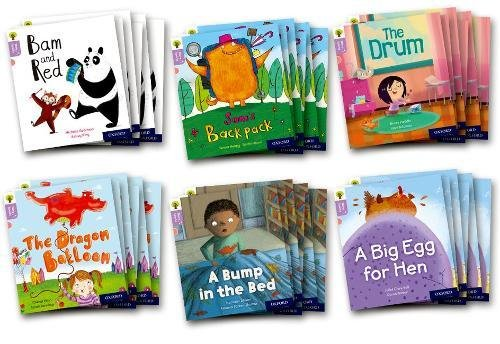 Download Oxford Reading Tree Story Sparks: Oxford Level 1+: Mixed Pack of 6 pdf