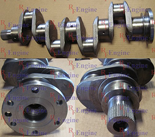 Counterweighted Crankshaft - Perkins New Crankshaft 4.236 4.248 -NK Rope Seal 1 Bolt Nose Non Counterweighted