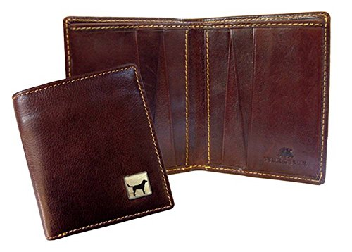 Leather Jeans Wallet Jeans Wallet Labrador Brown Brown Labrador Leather 5fddw6q