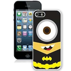 Batman Minion (2) Hottest Customized Design iPhone 5s Cover Case
