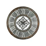 Hamptons Collection Greystone Wall Clock
