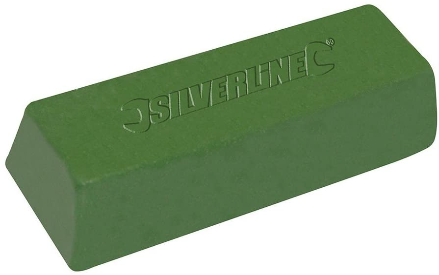 Silverline 107889 - Pasta para pulir de color verde (500 g)