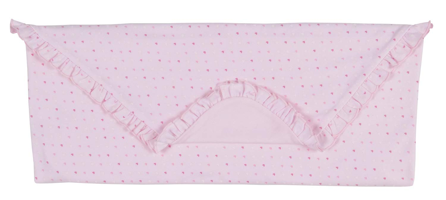Kissy Kissy Baby-Girls Infant Parisian Stroll Receiving Blanket-Pink-One Size by Kissy Kissy