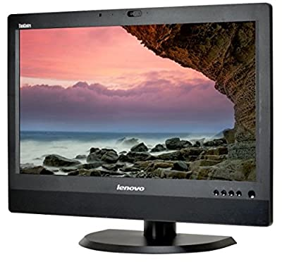 "Lenovo ThinkCentre M92Z 23"" HD+ All-In-One Desktop Computer, Intel Quad Core i5-3470S 2.9GHz, 4GB RAM, 500GB HDD, USB 3.0, DVDRW, DiaplayPort, RJ-45, Windows 10 Professional (Certified Refurbished)"