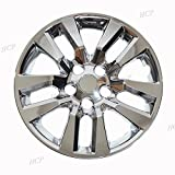 Chrome 16'' Bolt on Hub Cap Wheel Covers for Nissan Altima - Set of 4