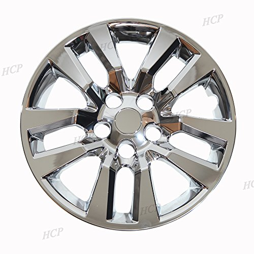 "Chrome 16"" Bolt on Hub Cap Wheel Covers for Nissan Altima - Set of 4"
