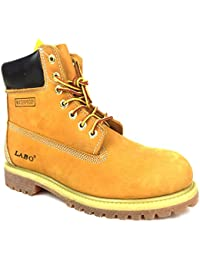 Premium Waterproof Leather Boots Rubber Sole by CITISHOESNYC