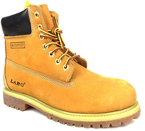 PREMIUM WATERPROOF LEATHER BOOTS RUBBER product image