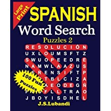 Large Print Spanish Word Search Puzzles 2