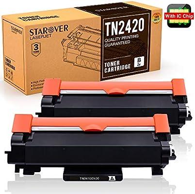 con Chip] STAROVER TN-2420 TN2420 Cartucho Tóner Compatible para ...