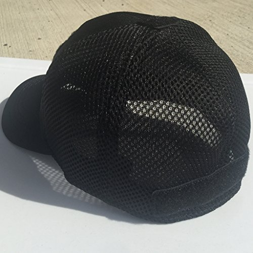 b825ae91c46aa Gadsden and Culpeper Condor Mesh Fitted Cap Bundle (USA DTOM Patches) -  Black