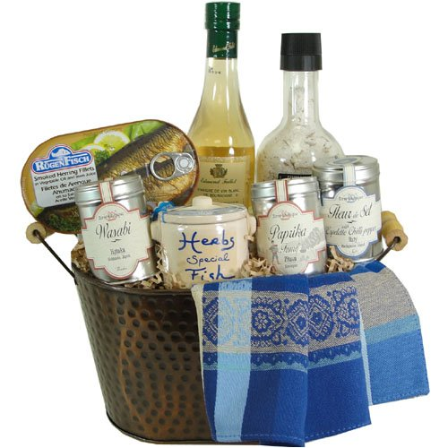 Fish Seasonings and Fish Luxury Gourmet Gift Basket